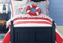 Nautical/Boat Bedroom / Ideas and inspiration for H's new bedroom