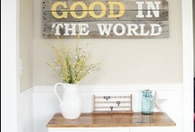 Our Home / Home decoration ideas and inspiration.