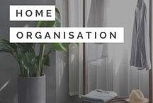 Home Organisation / Home organisation including home organisation tips, home organisation ideas, home organisation hacks, home organisation DIY, home organisation storage & home organisation printables.