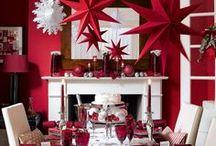 Christmas table / Christmas table decor, home decor, celebrations, food