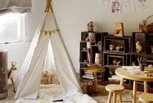 Natural Playroom / Natural design, home decor, playroom ideas