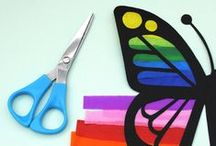 Butterflies / Lessons, activities, and arts and crafts ideas for teaching about butterflies in the elementary classroom.