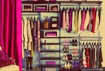 Walk In Closet/Wardrobe Design / One day I will have a perfectly organised wardrobe! This is my board for ideas and inspiration for the perfect customized wardrobes.