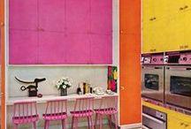 Block Colour Kitchen
