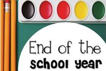 End of the Year / End of the school year activities, tips, and tricks for the elementary classroom.