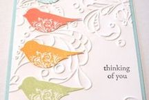 Card Ideas - Stampin' Up / by Kimberly Polman