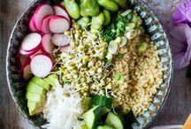 Buddha Bowls / Healthy food recipes