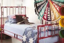 Boy Bedroom Decor Ideas / by Pam @ House of Hawthornes