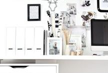 decor: office and studio / by Jessica King