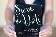 Wedding Save the Dates / Some of my favorite wedding save the dates