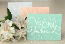 Wedding Calligraphy / Great calligraphy, mostly for weddings