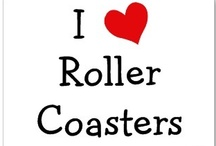 Roller Coasters / I am an adrenaline junky from way back. Roller coasters are one manifestation of my addiction. AND THEY ARE SO MUCH FUN! / by Ricky Simmons