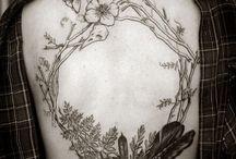 Tattoo / Tattoos, girl tattoos,minimalist,realistic