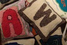 """""""Lavender Wool"""" Rug Hooking Patterns / by Bridget"""