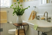 Bathroom Ideas And Design / Bathroom remodel ideas from DIY to professional renovations / by Pam @ House of Hawthornes