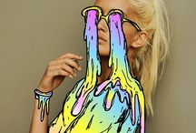 I LiiKE ECCLECTiiC && WEiiRD THiiNGS / Bunch of photos of what could be my dream collection of drawings, paintings, oils, pastels, water colors, bblahh blahh  / by Courtney Crislip