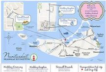 CT-Designs Wedding Maps / Custom digital wedding maps for your welcome bags or invitation suite... We offer these as printables, but can also print for an additional fee!