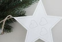 Christmas / Christmas decorations and inspirations with some Scandinavian flair.