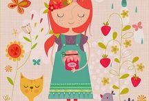 Illustrations / Disegni, illustrazioni, grafica e arte  www.zuccheroecaffe.it/