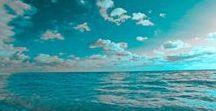 Turquoise / I colori sono per me la maggior fonte di ispirazione. Il turchese è il colore del mare e del cielo nelle sue mille sfumature https://www.zuccheroecaffe.it/