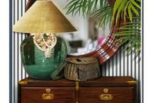 West Indies/British Colonial/Anglo Indian Decor & Style / Check out my other board: British Colonial 2  for more West Indies, British Colonial, Anglo Indian Style & Decor.  I love the way Stuart Membery, Ralph Lauren and Barclay Butera do this look. Tropical, Island, and safari style are also included.  Other inclusions are East Indies, Indochine and Balinese interiors.  Michael Conners and India Hicks are influences. / by Mary Clare