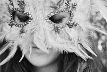 styled shoot: dark mask / by Jessica King