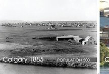 Calgary then and now / Calgary then and now, a visual time warp and statistics to go along with it! Calgary Real Estate and Calgary Historical comparison! / by Cody Battershill