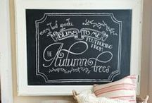 Get Creative - with Chalkboard Paint