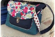 couture sacs, trousses, cahiers ect... / by capucine