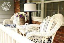 Front porch / by Jennifer Hanson