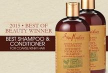 As Seen In... / Magazine, newspaper, blog articles, tv shows, and events that feature #SheaMoisture.