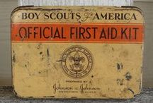 Vintage First Aid Kits / by Pam @ House of Hawthornes