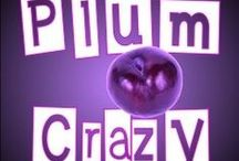 Plum Crazy / My favorite color! I see it in everything, everywhere! What a dull world it would be without purple! / by Cathi Moore