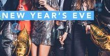New Year's Eve / All the food, drink and DIY decorating tips and tricks you need to host your own NYE party along with New Year's Eve outfit inspiration and more!