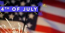 4th of July / Recipes, party planning tips and tricks, decorating ideas and more for Independence Day! Your July 4th party will be sure to impress if you incorporate some of these great ideas and party tricks!