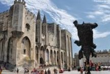 Avignon / Just 2 hours and 40 minutes from Paris and 5h30 from Brussels on the TGV, only 45 minutes by car from Marseilles Provence airport and its regular flights all over the world , Avignon, home to outstanding architectural heritage and located in the very heart of Provence, is well worth discovering.