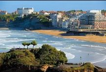 Biarritz / Located in the south west of France in the Aquitaine region, only half an hour from Spain, Biarritz has become an internationally not to be missed destination.   It was in the mid 19th century that Victor Hugo discovered Biarritz, a charming fishing harbour in the Basque country. Since then, Biarritz has remained one of the most welcoming towns in France