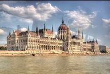 """Budapest / """"Budapest is a city of full of surprises and wonder, with its lively centre, pretty parks, majestic river, tall church spires and lavish spas. One of the most exciting cities in the world, Budapest is full of secrets to uncover, hidden spots to explore and old favourites to revisit. This is the city where being bored is not an option."""