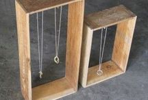 Jewelry Display Ideas / Ring holders and jewelry display ideas