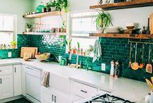 Kitchen / Kitchen, furniture,designs,tile,color