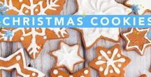 Christmas Cookies / Christmas cookie recipes that are just as tasty as they are pretty! They will be sure to be a hit at any holiday party!