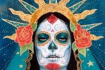dia de los muertos / by Cherona Micklish-Pyles