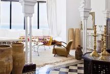 INTERIORS // DESIGN / interior design with the occasional exterior thrown in / by Adrienne » Eclectic A