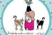 Everybody Needs a Sidekick / Man's (and woman's) best friend!