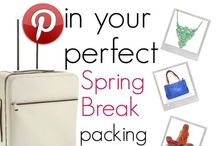 PG Spring Break Packing List / Spring is in the air and warmer days are just ahead! With Private Gallery Girls Everywhere making plans for a fun filled Spring Break, it got us thinking... What would we include on THE PERFECT SPRING BREAK PACKING LIST?!