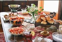 Hospitality ~ Recipes / Recipes for special events like bridal and baby showers, birthdays, graduations, Super Bowl parties, and casual backyard BBQs.