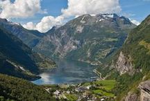 SCANDINAVIA / I believe Norway to be the loveliest country on Earth . . . / by Margi
