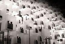 _ . . Cellar / Minimalist clean contemporary  wine cellars and display racks