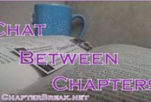 Chapter Break / Pins from ChapterBreak.net, a book blog where we chat about all things bookish, review fiction books, both YA and adult, in the Paranormal, Sci-Fi, and Fantasy, and Contemporary genres.