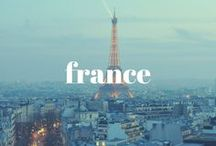 FRANCE / Travel Inspiration from Paris and beyond, find places and tastes to try all things French. Bon Voyage to France!